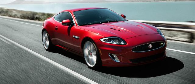 Red Jaguar XK