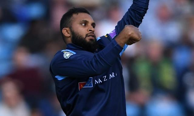 "<span class=""element-image__caption"">Adil Rashid bowls during Yorkshire's victory against Lancashire in the Royal London One-Day Cup match at Headingley.</span> <span class=""element-image__credit"">Photograph: Gareth Copley/Getty Images</span>"