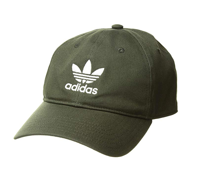 """<p><strong>adidas</strong></p><p>amazon.com</p><p><strong>$24.00</strong></p><p><a href=""""http://www.amazon.com/dp/B07D9MRW3D/?tag=syn-yahoo-20&ascsubtag=%5Bartid%7C2141.g.27760489%5Bsrc%7Cyahoo-us"""" target=""""_blank"""">Shop Now</a></p><p>Dad's go-to headgear probably hasn't changed since the early 2000s, but this worn-in Adidas cap is easy to love. The seamband is 100 percent cotton and the whole shebang was made in the USA.  </p>"""
