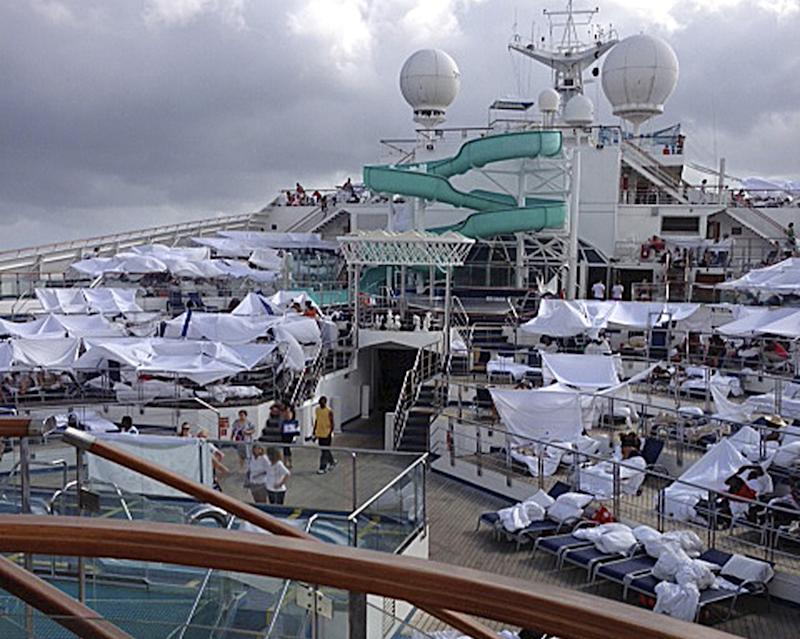 Carnival, passengers in court over disabled ship