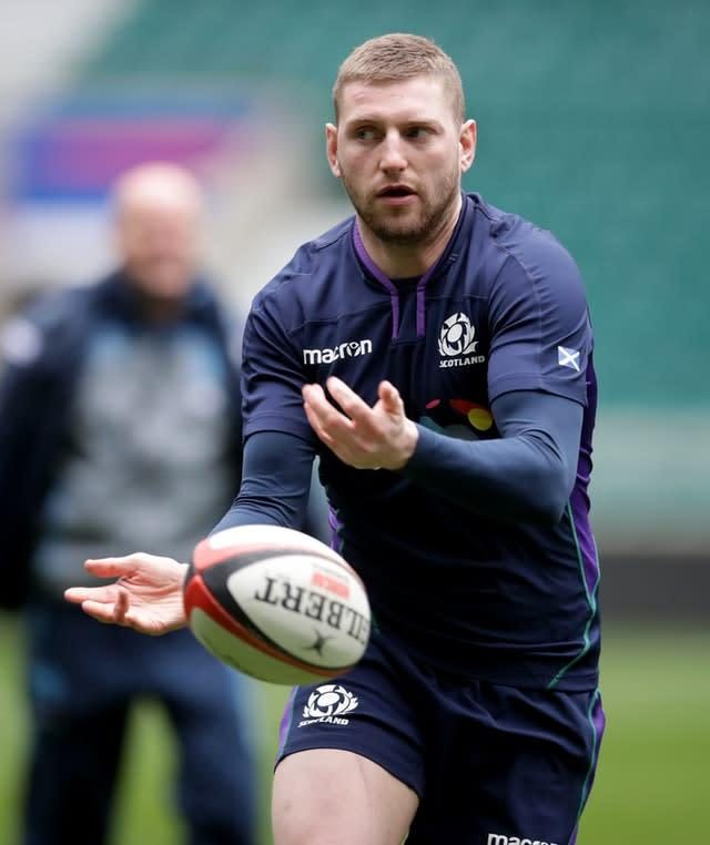 Finn Russell sat out the Scots' Six Nations campaign after a fall-out with Townsend (Adam Davy/PA)
