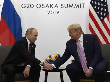 'It should be the G8', says Donald Trump, unsettling G7 members by calling for Russia's return week before summit in France