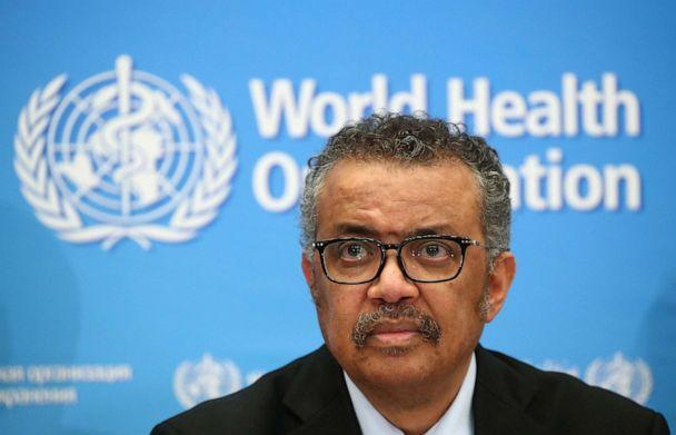 PHOTO: Director-General of the WHO Tedros Adhanom Ghebreyesus, attends a news conference on the coronavirus (COVID-2019) in Geneva, Switzerland, Feb. 24, 2020. (Denis Balibouse/Reuters)