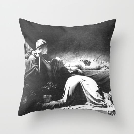 """<p>Nothing says love will keep you apart — er, together! — than the gift of an album cover-themed pillow to snuggle against. You can also get <i>Together </i>as a duvet cover or throw blanket. Get it <a href=""""https://society6.com/product/joy-division-closer_pillow#25=193&18=126"""" rel=""""nofollow noopener"""" target=""""_blank"""" data-ylk=""""slk:HERE"""" class=""""link rapid-noclick-resp"""">HERE</a>. </p>"""