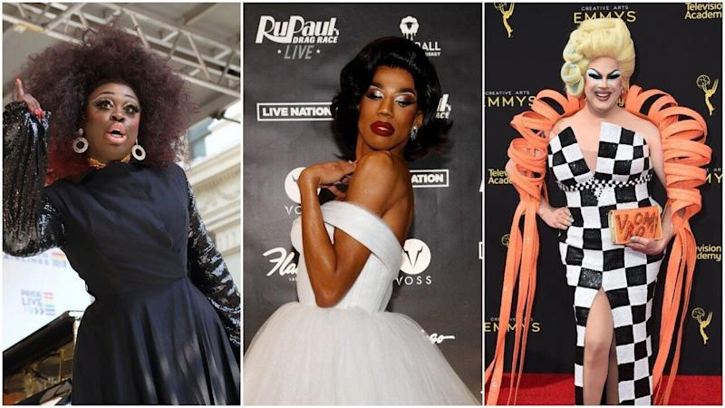 Bob the Drag Queen, Naomi Smalls and Nina West. (Photo: Getty Images)