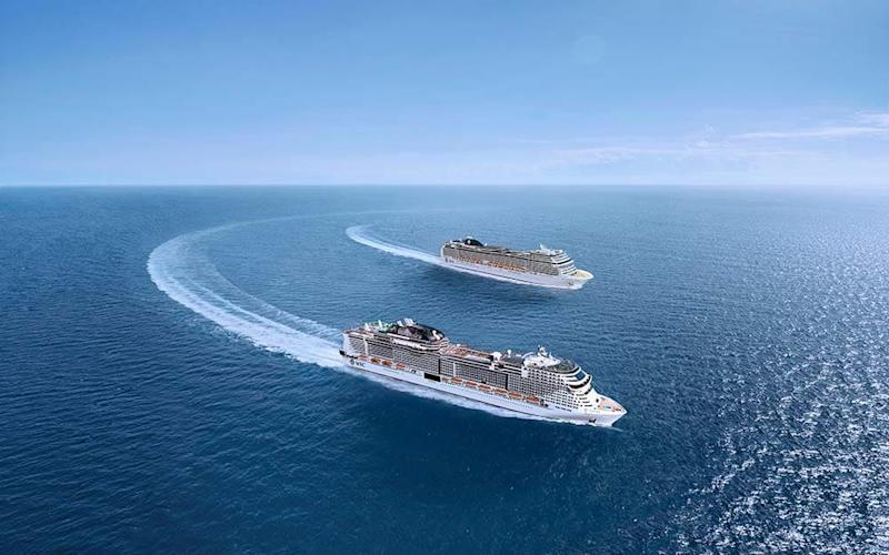 MSC Grandiosa and MSC Magnifica will be welcoming passengers back onboard this month - MSC CRUISES