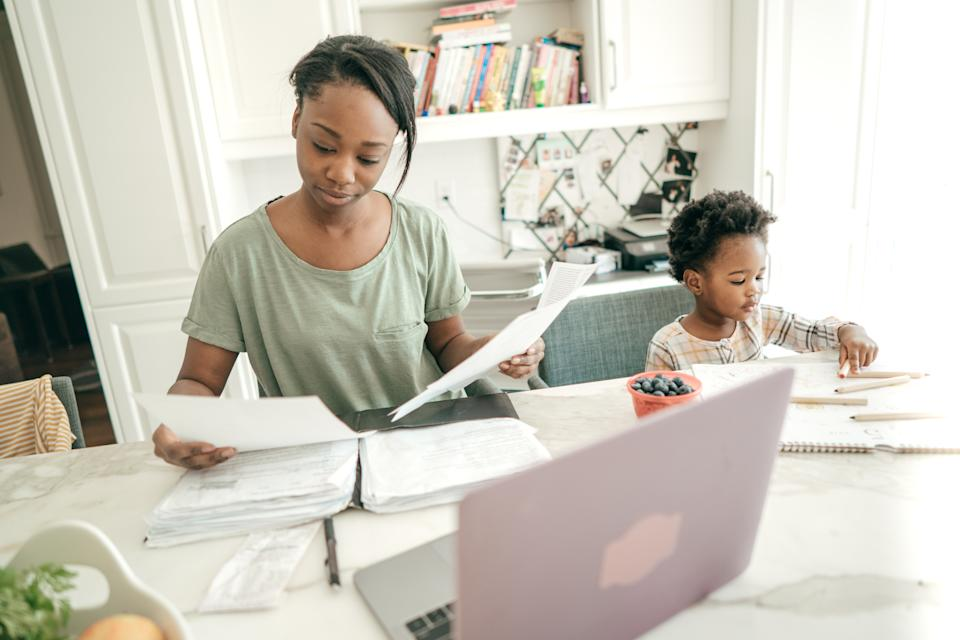 Experts are calling on the government to do more to ease the childcare burden. (Getty Images)