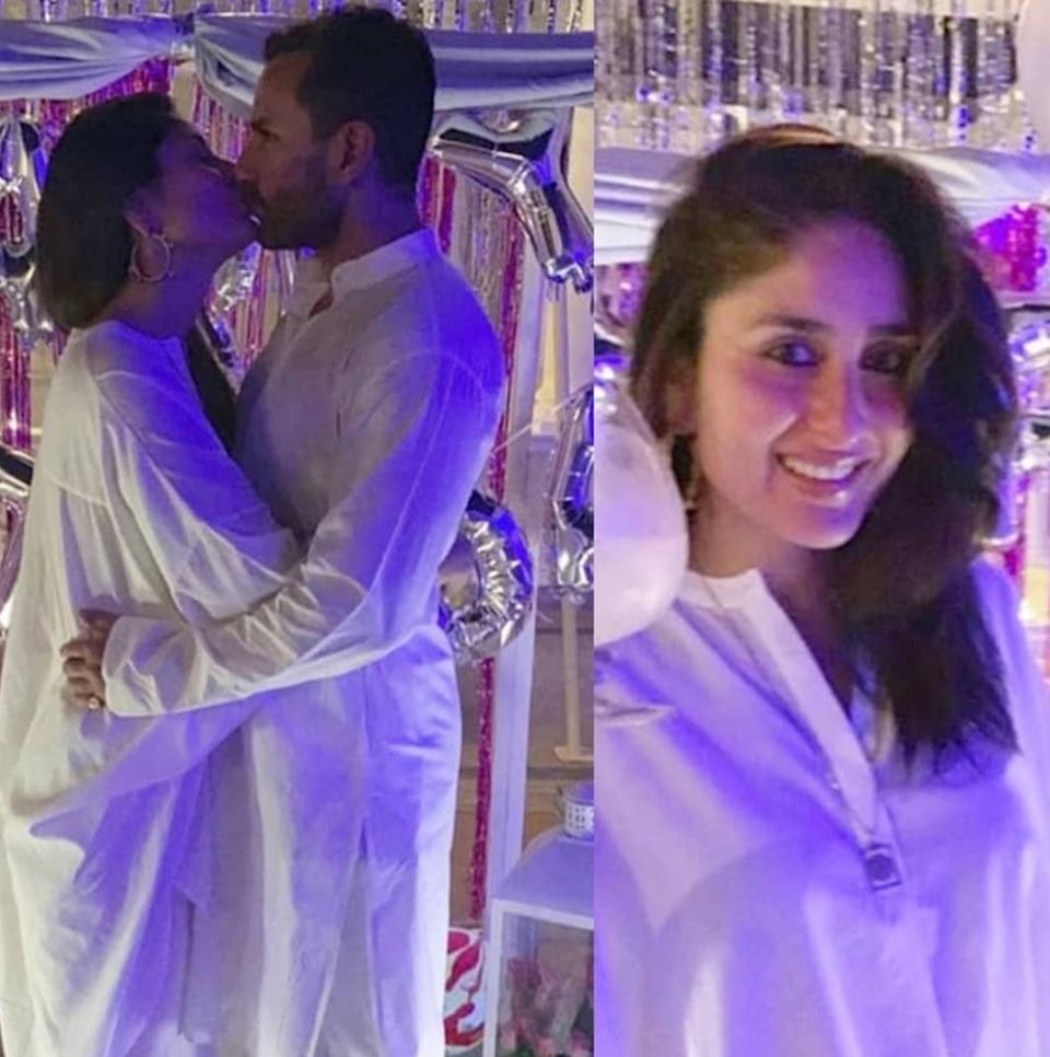 What are the chances of you having not bumped upon this delicious pic of Bebo and the <em>Chhote Nawab? </em>Zero, we guess. The perfect shot was taken at the Pataudi palace during Kareena's birthday celebrations this year. You know, its not easy to look that stunning in a plain loose<em> kurta-payjama.</em> But the stunner stunned us, thereby, making it a moment.