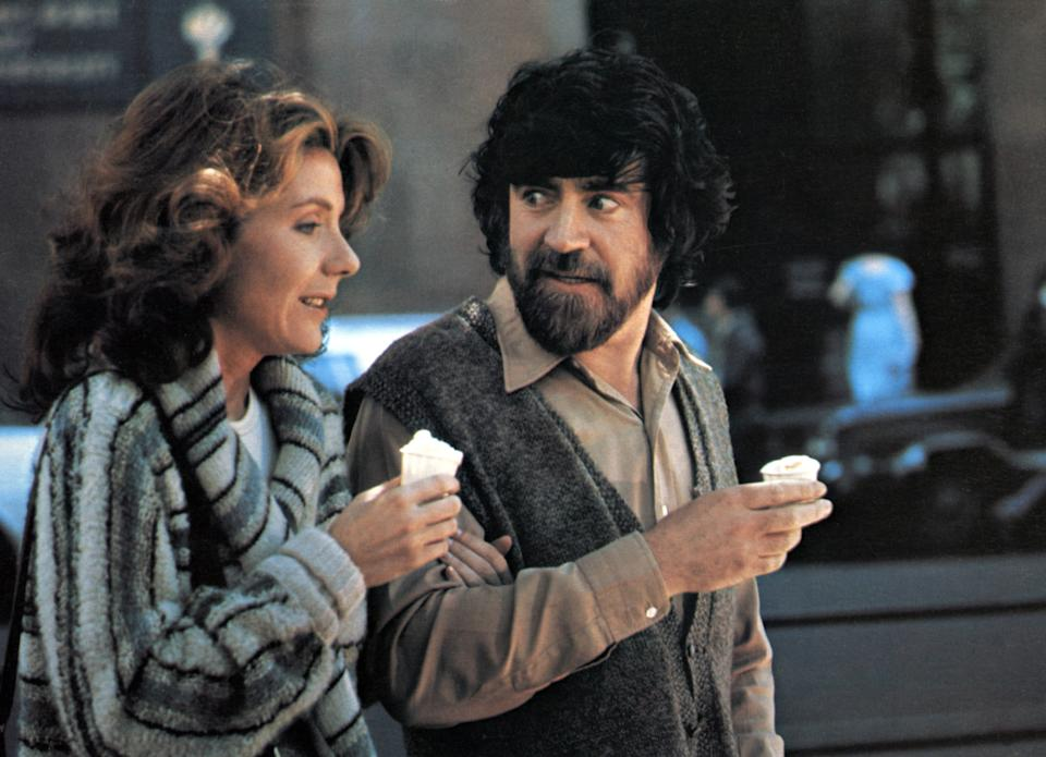 Jill Clayburgh and Alan Bates in An Unmarried Woman.