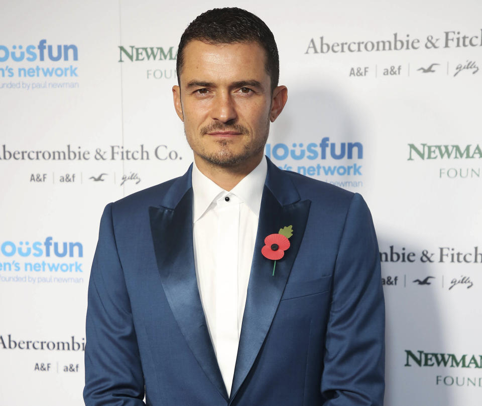 SEPTEMBER 16th 2020: Orlando Bloom and other high profile celebrities are boycotting Instagram in protest against parent company Facebook's handling of misinformation and hate. - File Photo by: zz/KGC-158/STAR MAX/IPx 2018 11/6/18 Orlando Bloom at the Serious Fun Gala in London, England, UK.