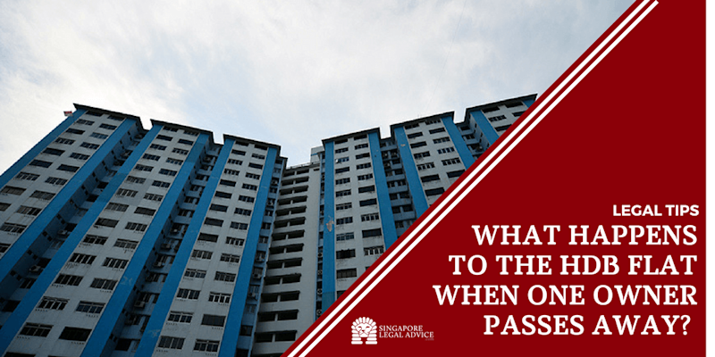 What Happens to the HDB Flat When One Owner Passes Away?