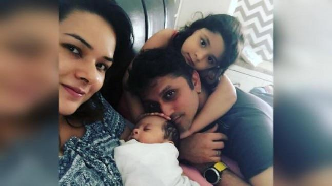 Mohit Suri took to Instagram to share the first picture of his son Karrma on wife Udita Goswami's birthday.