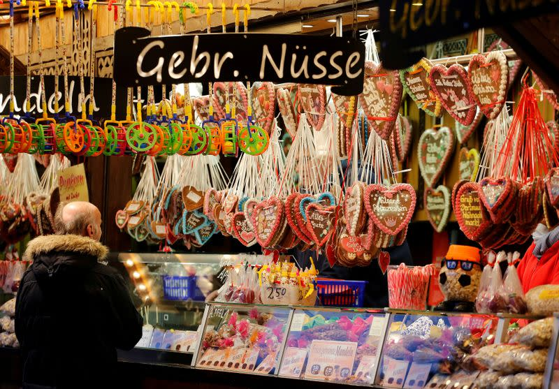 FILE PHOTO: Christmas market in Dortmund