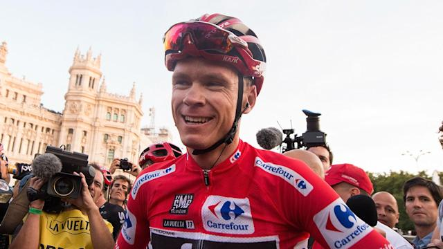 A report that Chris Froome may accept a six-month ban for an adverse drugs test have been denied by the Team Sky rider.