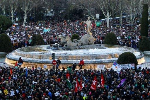 'Citizen tide' of protests swamps Spain