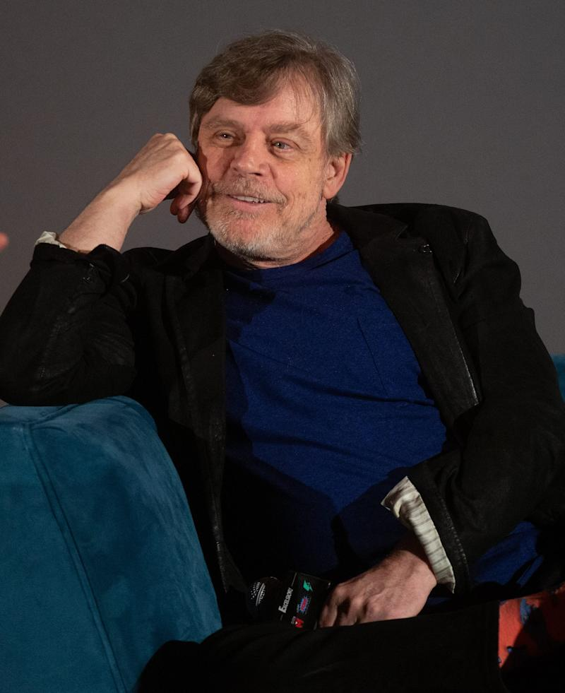Mark Hamill, seen at an event in Hollywood in January, joins the second season of History's 'Knightfall'
