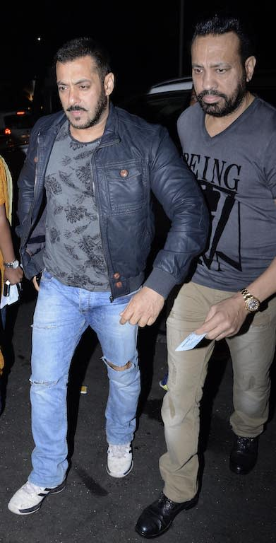 Salman is quite fond of Shera and is set to launch his son Tiger in Bollywood, who is currently learning the ropes of the industry by assisting directors.