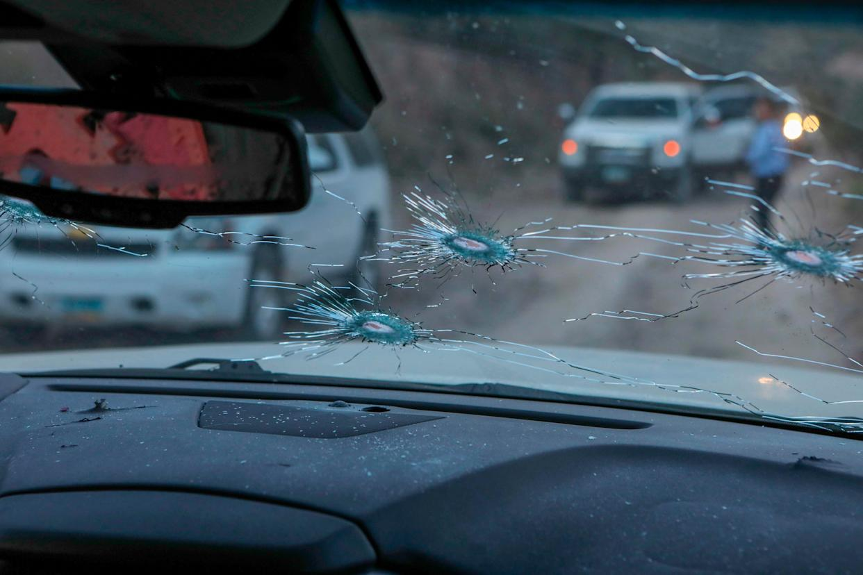 Nine members of a family were killed in an ambush by armed men in the Sonora mountains of Mexico.