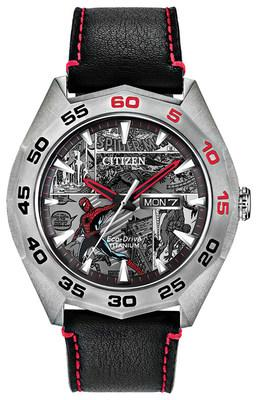 Citizen releases new Limited Edition Marvel Spider-Man watch, limited to 1,962 pieces worldwide, celebrating the launch of the original Spider-Man comic book.