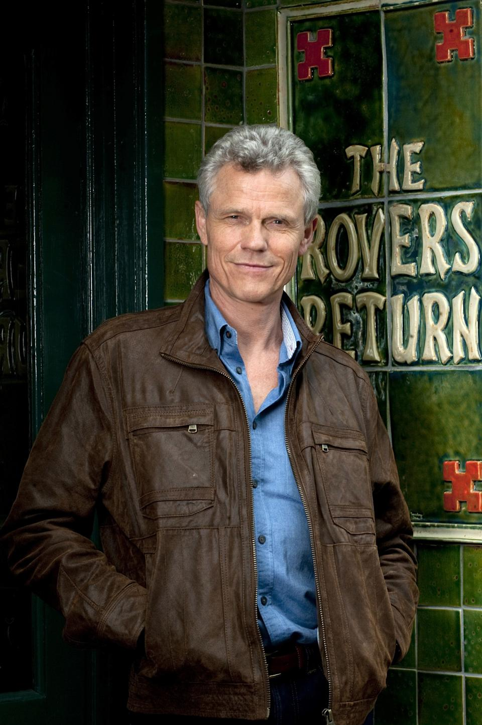 <strong>Andrew Hall (1954-2019)<br /></strong>Coronation Street fans will remember Andrew for his role as Marc Selby in 2011, having previously been in the BBC sitcom Butterflies in the late 1970s and early 80s.
