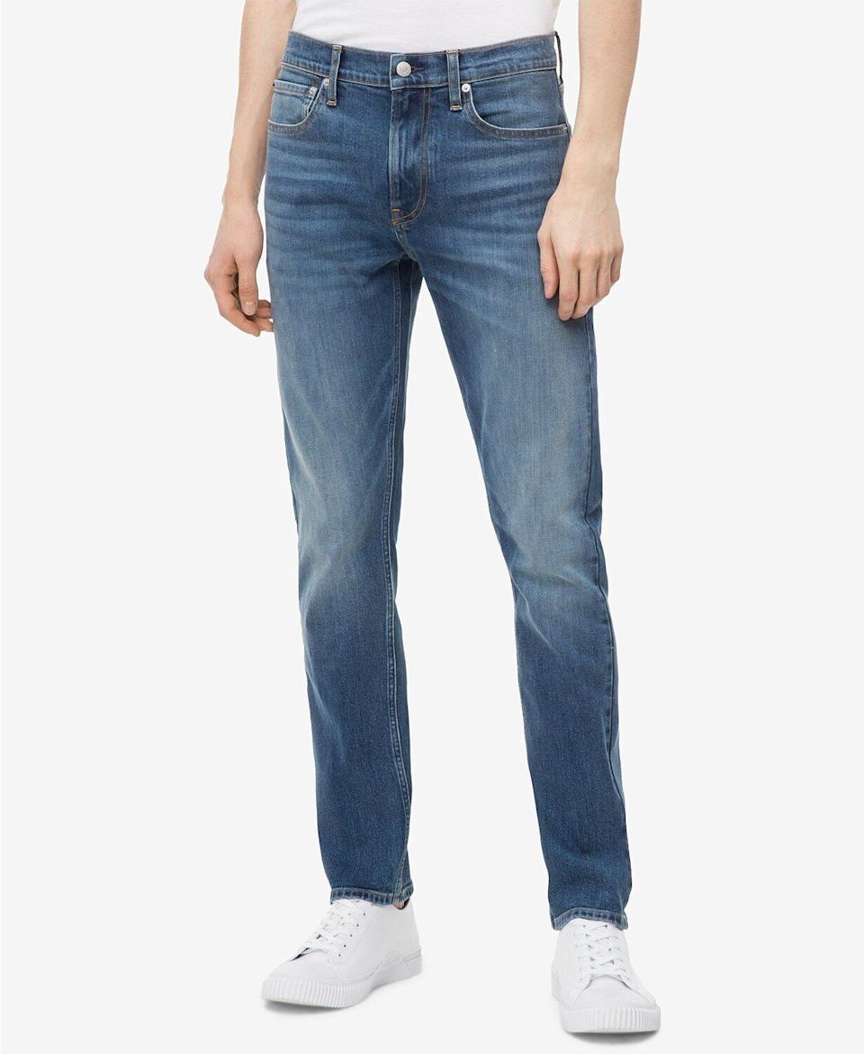 """Luckily, 96% of the people who reviewed these Calvin Klein jeans would recommend them.<strong><a href=""""https://fave.co/2NhvPE6"""" target=""""_blank"""" rel=""""noopener noreferrer"""">Find this pair at Macy's</a></strong>."""