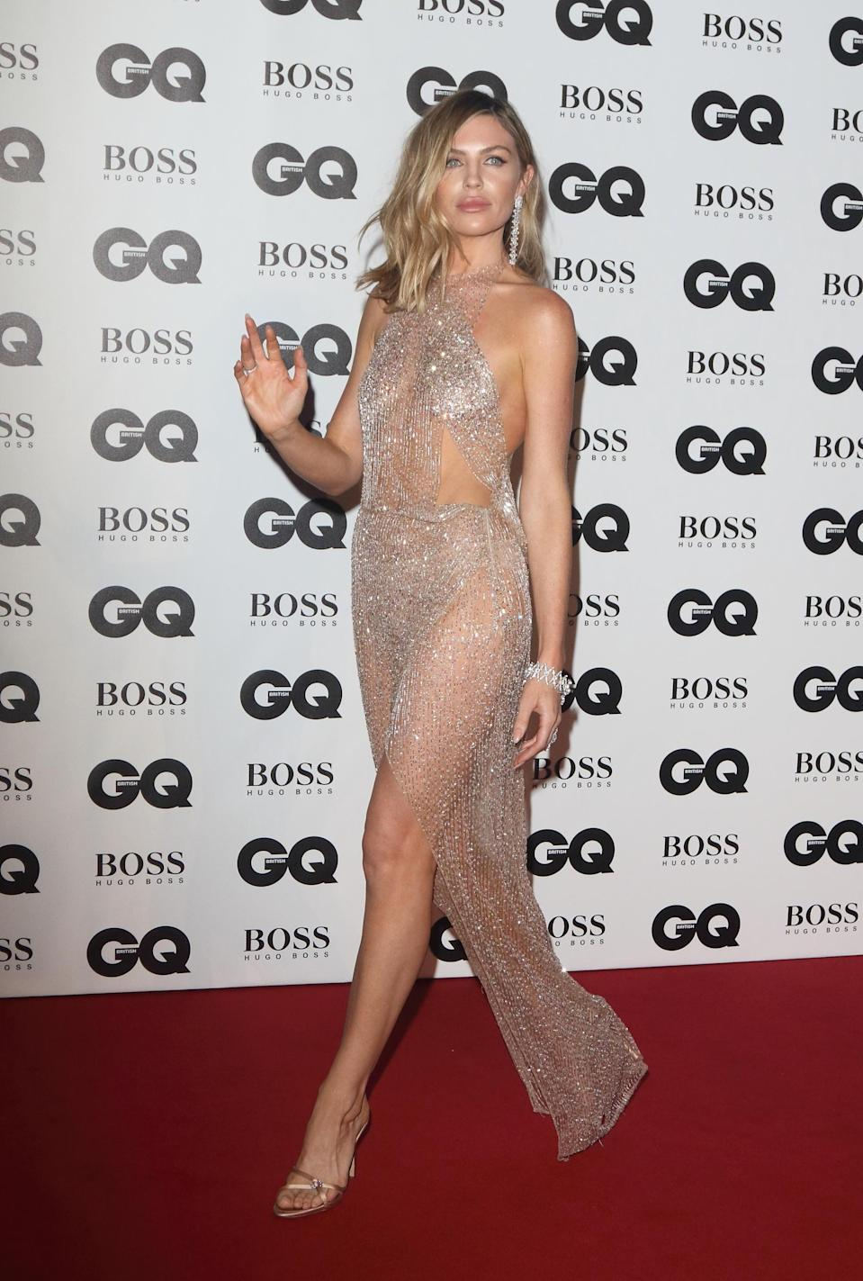 <p>Abbey Clancy ai GQ Men Of The Year Awards </p>