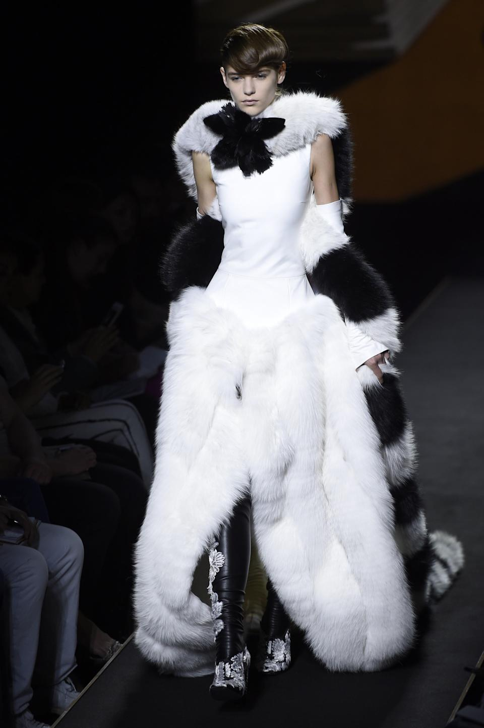 Major brands including the likes of Fendi still use fur on a regular basis [Photo: Getty]
