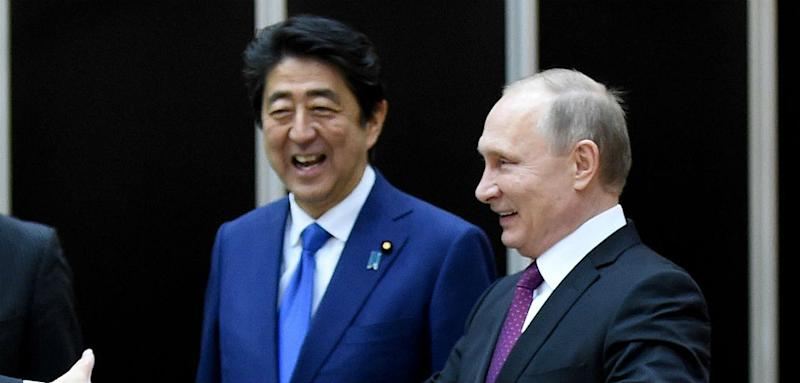 Putin Wants Economic Cooperation With Japan But Won't Give Back Islands