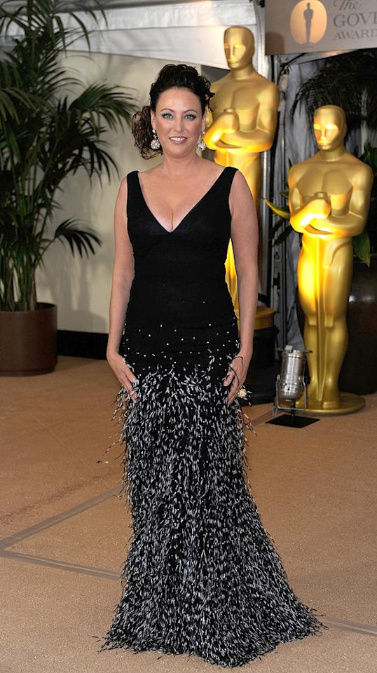 """<a href=""""http://movies.yahoo.com/movie/contributor/1800011462"""">Virginia Madsen</a> at the Academy of Motion Picture Arts and Sciences' Inaugural Governors Awards - 11/14/2009"""
