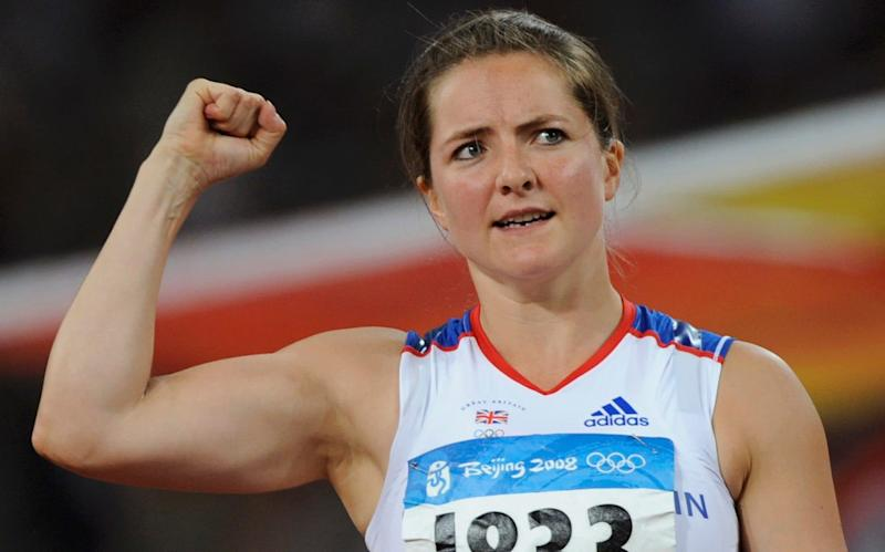Goldie Sayers has yet to receive her medal from the Beijing Olympic Games in 2008 - REUTERS
