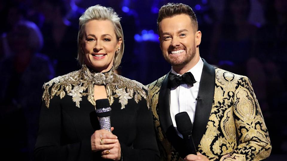 Grant Denyer and Amanda Keller are reportedly going into the jungle. Photo: Ten