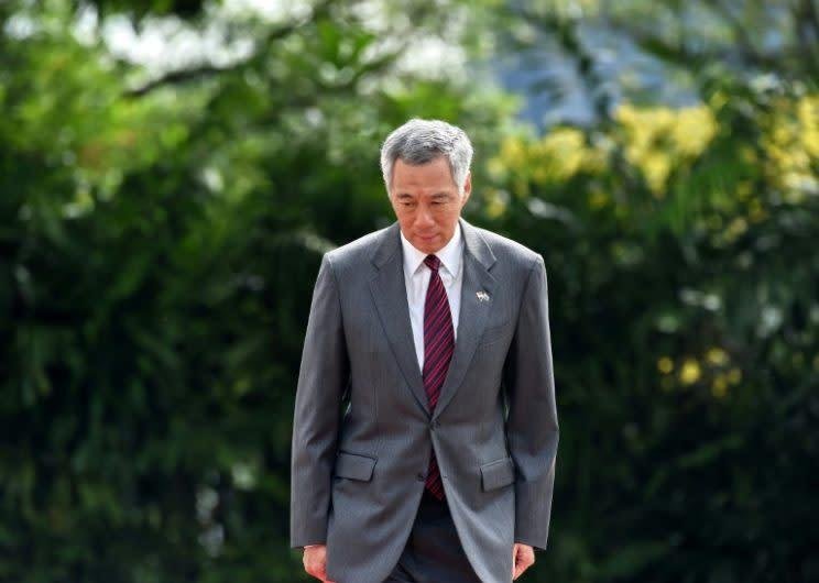 Photo of Singapore Prime Minister Lee Hsien Loong: AFP