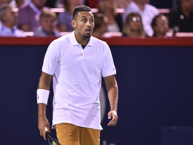 Nick Kyrgios of Australia. (Photo by Minas Panagiotakis/Getty Images)