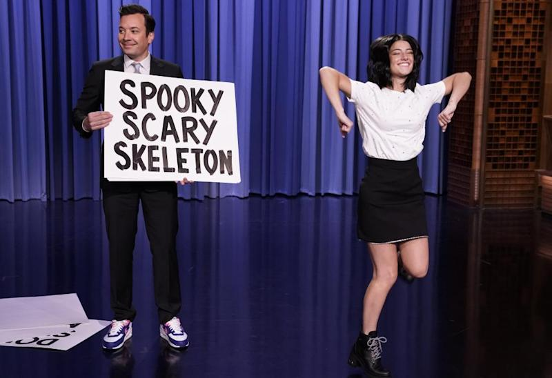 Charli on The Tonight Show Starring Jimmy Fallon