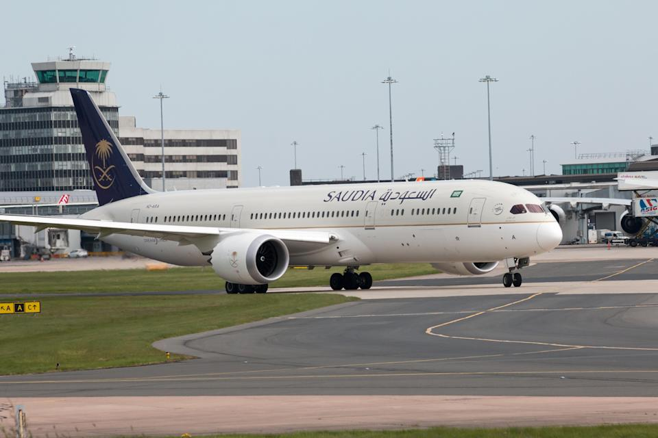 The Saudia flight bound for Kuala Lumpur eventually returned to the airport in Jeddah. (Photo: Getty Images)