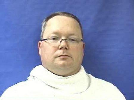 Former Kaufman County Justice of the Peace Eric Williams is pictured in this booking photo courtesy of the Kaufman County Sheriff. REUTERS/Kaufman County Sheriff/Handout