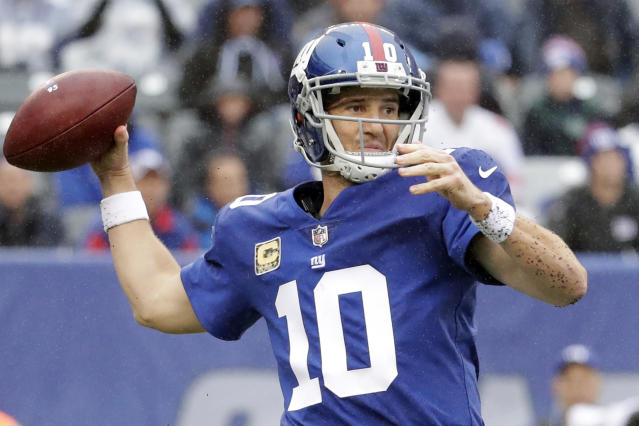 Eli Manning hardly has a perfect resume, but he absolutely belongs in the Hall of Fame. (AP)