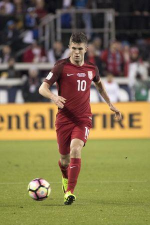 March 24, 2017; San Jose, CA, USA; United States midfielder Christian Pulisic (10) during the first half of the Men's World Cup Soccer Qualifier against the Honduras at Avaya Stadium. Mandatory Credit: Kyle Terada-USA TODAY Sports