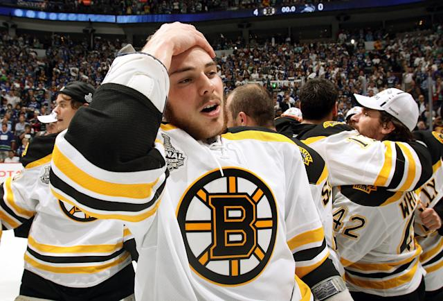 Tyler Seguin won a Stanley Cup with the Boston Bruins in his rookie season. (Photo by Dave Sandford/NHLI via Getty Images)
