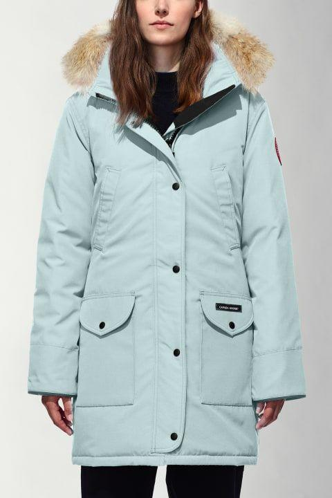 """<p>canadagoose.com</p><p><strong>$995.00</strong></p><p><a href=""""https://www.canadagoose.com/us/en/trillium-parka-6660L.html"""" rel=""""nofollow noopener"""" target=""""_blank"""" data-ylk=""""slk:Shop Now"""" class=""""link rapid-noclick-resp"""">Shop Now</a></p><p>Canada Goose is known for its premium coats and jackets, but unlike many top-tier brands, you aren't just paying for a label. The Canadian brand designed every inch of its new women's Trillium Parka for maximum comfort, warmth, and durability. The fill is made of 625 fill power white duck down with a removable, down-filled hood and recessed rib-knit cuffs to lock in heat. It extends to the mid-thigh, just like your favorite over-legging sweaters, is elasticized along the back waist, and features an interior drawcord for enhanced fit. Finally, Canada Goose gives this parka a Thermal Experience Index rating of 4—<strong>inspired by the Arctic but made for everyday wear, </strong>second only to jackets that are literally meant for Antarctica. </p>"""