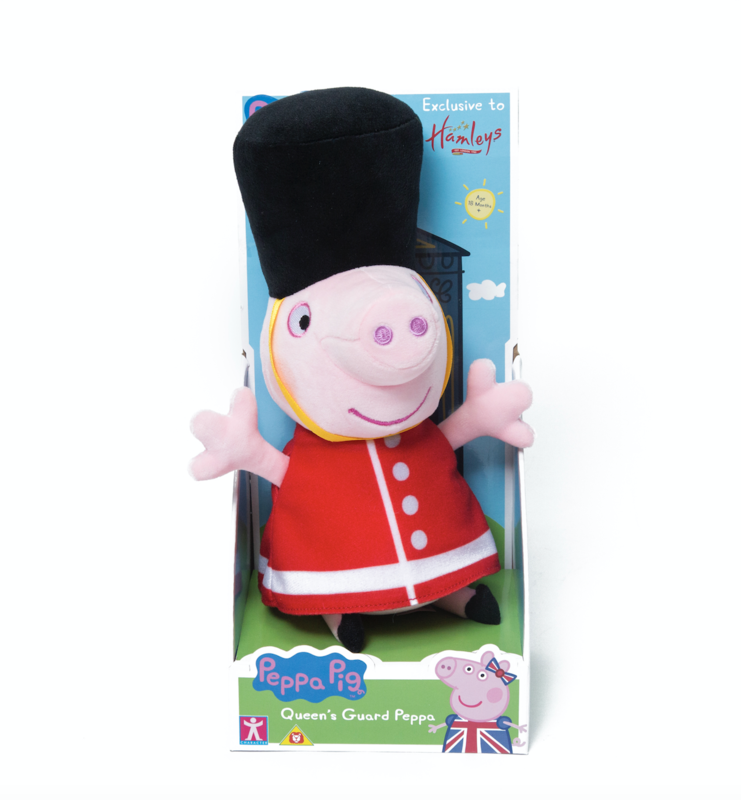 Your child's favourite TV character is now available dressed up as a castle guard or the Queen's guard because, well, why not?Price: £25Ages: 18 months +Click here to buy.