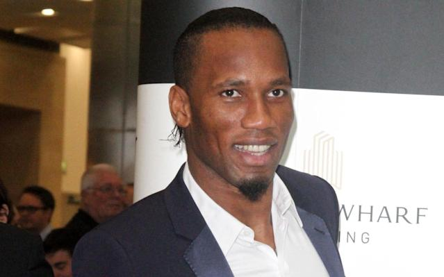 Didier Drogba is hoping to take Phoenix to the Major League Soccer - Rex Features