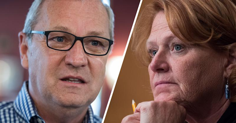 Kevin Cramer and Heidi Heitkamp