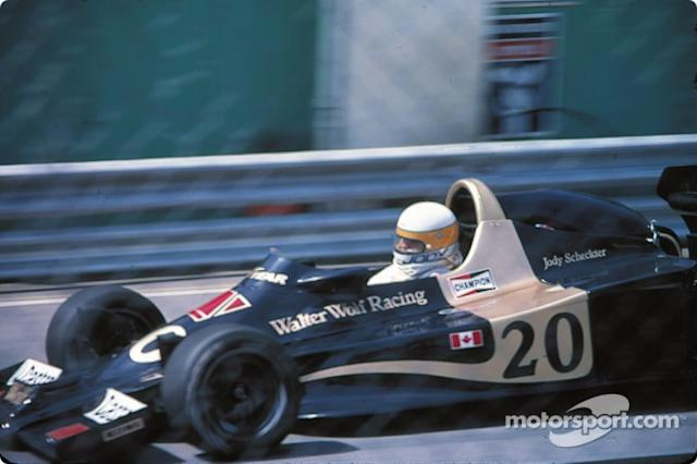"""Jody Scheckter, Wolf WR3 Ford <span class=""""copyright"""">Jean-Philippe Legrand</span>"""