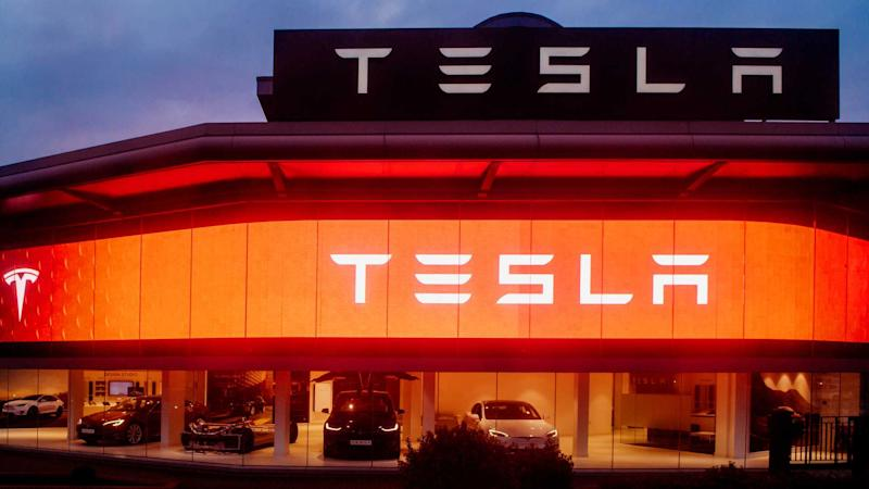 Tesla Motors showroom in central London
