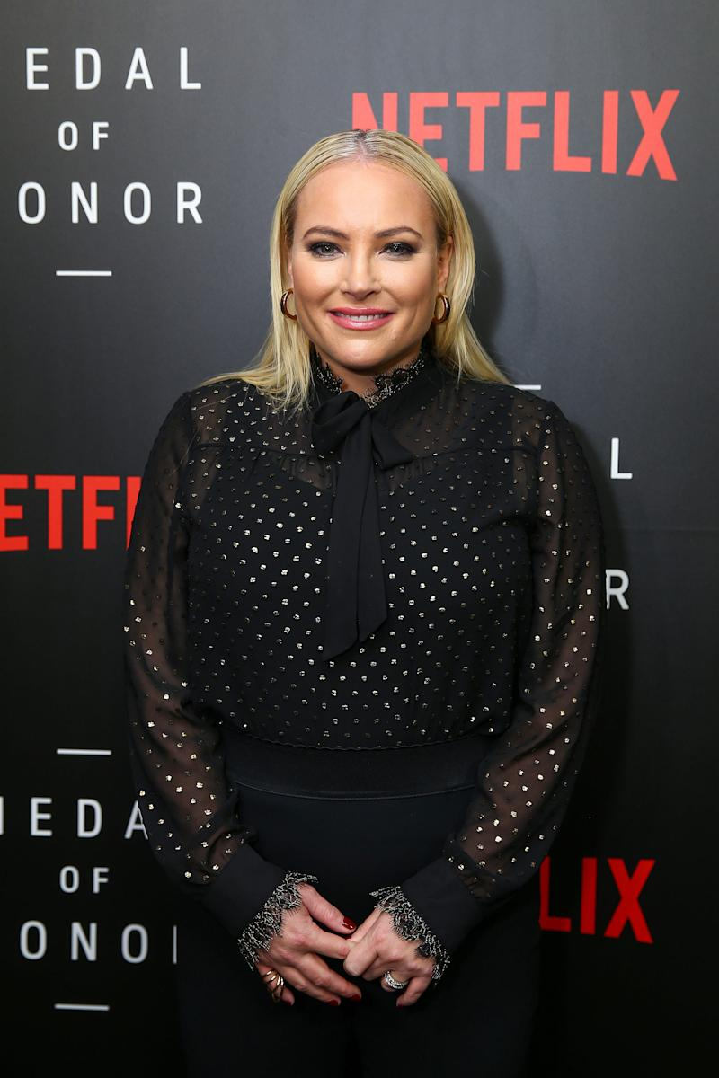 Meghan McCain, in Washington DC in November, has spoken about the loss of her father to Porter.