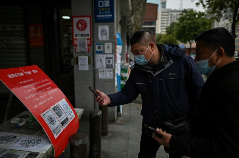 China was the first country to adopt a QR code system to log Covid test results and track contacts
