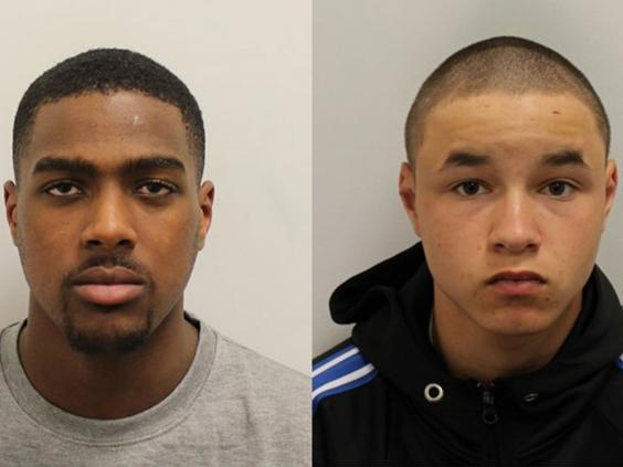 Drug dealer Svenson Ong-a-Kwie, 19, and his 17-year-old runner Arron Isaacs were jailed for murder (Metropolitan Police)