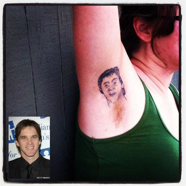 She Has A Luc Robitaille Armpit Tattoo And Grew Him Natural