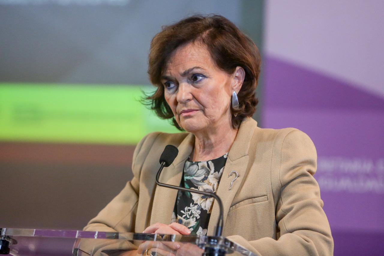 La hasta ahora única vicepresidenta será <strong>vicepresidenta de Presidencia, Relaciones con las Cortes y Memoria</strong>. (Photo by Europa Press News/Europa Press via Getty Images)